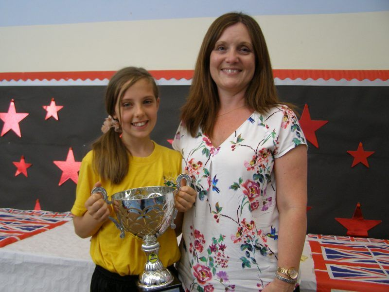 Image result for girl with trophy with parents